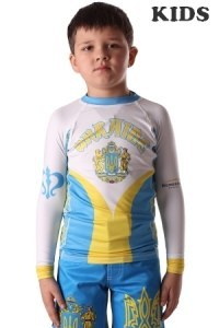 Рашгард BERSERK HETMAN KIDS blue (RS8909Bl)