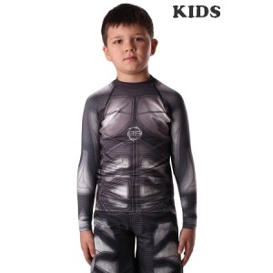 Рашгард BERSERK IRON KIDS black (RS6781B)