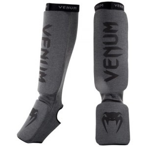 Защита голени VENUM KONTACT SHIN AND INSTEP GUARDS GREY
