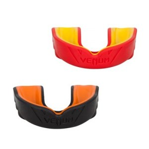 Капа VENUM CHALLENGER MOUTHGUARD (RED/YELLOW - BLACK/ORANGE)