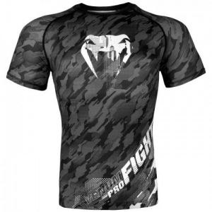 Рашгард Venum Tecmo Rashguard Short Sleeves Dark Grey