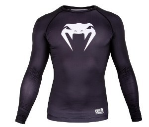 Компрессионная футболка VENUM Contender 3.0 Compression T-shirt Long Sleeves  (VEN-03135)