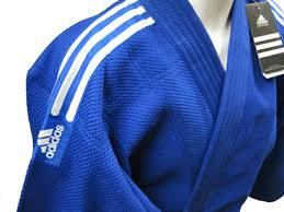 кимоно дзюдо синее Adidas J650, плотность 650 г/м2