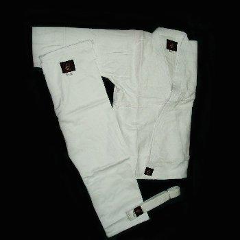 кимоно белое, плотность 550 г/м2